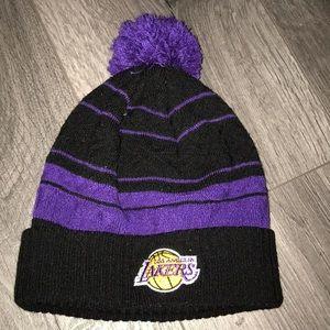 💫💜💛 LA Lakers black&purple adidas beanie 🏀